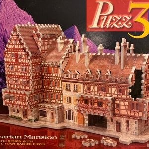 VTG Puzz3D Babarian Mansion 418 Piece 3D Puzzle